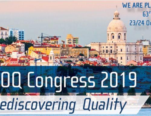 EOQ Congress 2019 – Kvaliteedi taasavastamine – Lissabon
