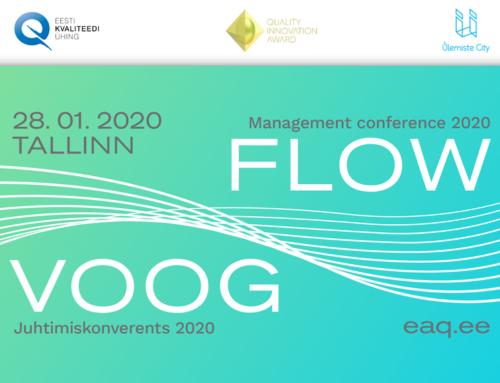 Juhtimiskonverents VOOG tuleb 28. jaanuaril 2020. Registreerumine avatud!